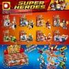 Super Heroes เลโก้จีน DLP 9077 ชุด 8 กล่อง Marvel Infinity Wars
