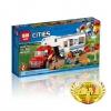เลโก้จีน LEPIN CITY 02093 ชุด Pickup & Caravan