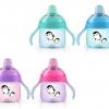 แก้วหัดดื่มสำหรับเด็กทารก Philips AVENT My Penguin Sippy Cup, Pink, 7 ออนซ์