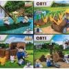 เลโก้จีน CAYI Village เลโก้ฟาร์ม+ตัวละคร No.1801