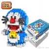 Loz 9804 Nanoblock : Doraemon