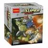 มินิฟิกเกอร์ Decool 0281 ชุด Gladiator Hulk