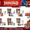 มินิฟิกเกอร์ LELE 79026 ชุด Ninja Go 6 กล่อง