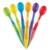 ช้อนทานอาหารปลายนิ่มสำหรับทารก Munchkin 6-Pack Soft-Tip Infant Spoons