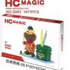 นาโนบล็อค : ที่ใส่ปากการูปหมี HC Magic No.3005