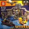 เลโก้จีน SY 879 ชุด Batman Batcave Break-in