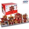 เลโก้จีน XB-01101 ชุดอาคารจีน 4 แบบ ( Set 1 )