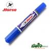 ปากกาเคมี 2 หัว ตราม้า