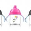 แก้วหัดดื่มสำหรับเด็กทารก Philips AVENT My Penguin Sippy Cup, Pink, 9 ออนซ์