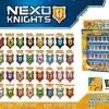 มินิฟิกเกอร์ SL Toys ธงสัญลีกษณฺ Nexo Knight ชุด 24 แบบ