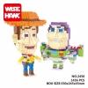 นาโนบล็อค : Toystory WiseHawk no.2456