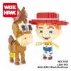 นาโนบล็อค : Toystory WiseHawk no.2455