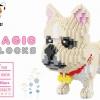นาโนบล็อค :สุนัขพันธุ์ French Bulldog Babu No.8808
