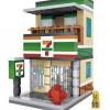 LOZ Mini Street : 7-Eleven (LOZ 1601)