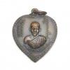 เหรียญแตงโม หลวงพ่อเกษม เขมโก ลำปาง ปี 2517