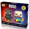 Loz Brickheadz : Black Panther & Dr.Strange