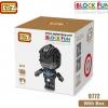 นาโนบล็อค : Black Power Ranger LOZ No.9772