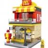 LOZ Mini Street : Mac Donald's (LOZ 1607)