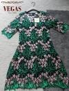 ชุดเดรสแฟชั่น เดรสเกาหลี Dress งานปัก ปังๆ ปักดอกแน่นทุกอณู สลับสีทูโทน