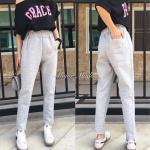 กางเกงแฟชั่น กางเกงวอร์มผ้าวูล (ไม่หนาร้อนค่ะ) สวยหรู