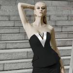 กางเกงขายาว ขาเดฟ ตัวเสื้อดีไซน์ช่วงกลางอกเป็นวีใช้ผ้าสีดำตัดชุดขาวเเละผ้าสีขาวตัวชุดสีดำ สวยดูสะดุดตามากๆ เป๊ะอลัง เเพทเทิร์นใส่เข้ารูปสวยเก็บทรงอย่างดี เเละมีซิปด้านหลังสวมใส่ง่าย เนื้อผ้าทางร้านเลือกผ้าเทียบเท่างานOriginal ที่สุด เนื้อผ้าประกอบหนาอย่าง