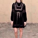 !สุดเปรี้ยวสมาร์ตดูดี Dress เดรสกำมะหยี่ดำสลับลูกไม้ตาข่ายลายดอกซี่ทรูแขนพอง งานแบรนด์ Dior ดีเทลเนื้อผ้ากำมะหยี่ดำ Velvet 100%