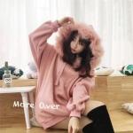 จั้มเปอร์ตัวยาวมีฮู้ดน่ารักมากๆคะ เกาหลีสุดๆ ใส่เป็นมินเดรส แมทกับบูท ชุดเดียวจบเลยจ้า ฮู้ดขนแน่นๆคะ Color : เทา / ชมพู Size :