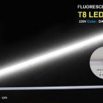 หลอดไฟนีออนสี กันน้ำ 100% ไฟงานวัด แสงขาว สายไฟเสียบปลั๊กใช้งานได้เลย