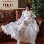 ชุดเดรสแฟชั่น เดรสเกาหลีPrincess Dress ผ้าปักที่หลายคนตามหา