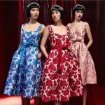 เดรสสายเดี่ยวผ้าทอลายดอกไม้ ตัวผ้าสวยมีน้ำหนักใส่ออกมาจะพองๆเป็นทรงสวย มาพร้อมสายคาดเอวสีเดียวกับตัวชุดค่ะ