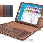 SAUYU เคสกระเป๋าหนังสไตล์นักธุรกิจ แยกชิ้นส่วนได้ (เคส iPad mini 4)