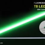 หลอดไฟนีออนสี กันน้ำ 100% ไฟงานวัด แสงเขียว พร้อมสายไฟเสียบปลั๊กใช้งานได้เลย