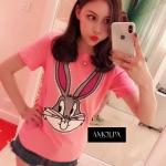 เสื้อแฟชั่นเกาหลี เสื้อ T. GUCCI Bug Bunny แสนน่ารัก