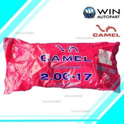 2.00-17 TR4 ยางใน ยี่ห้อ CAMEL ( เทียบเท่า 50/100-17 )