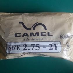 2.75-21 TR4 ยางใน ยี่ห้อ CAMEL (เทียบเท่า 80/90-21)