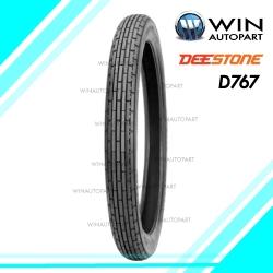 2.75-18 รุ่น D767 ยี่ห้อ DEESTONE ยางมอเตอร์ไซค์ 4PR T/T