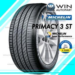 215/45R17 รุ่น PRIMACY 3 ST ยี่ห้อ MICHELIN ยางรถเก๋งและรถเอสยูวี