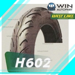 130/70-12 T/L ยี่ห้อ WEST LAKE รุ่น H602 ยางมอเตอร์ไซค์ Winautopart สำหรับ MSX 125 SF