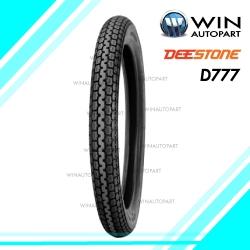 2.50-18 รุ่น D777 ยี่ห้อ DEESTONE ยางมอเตอร์ไซค์ 4PR T/T