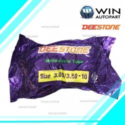 3.00/3.50-10 TR87 จุ๊บงอ ยางใน ยี่ห้อ DEESTONE