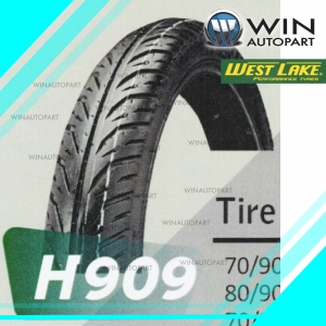 80/90-14 T/L ยี่ห้อ WEST LAKE รุ่น H909 ยางมอเตอร์ไซค์ Winautopart สำหรับ AIR BLADE , AIR BLADE-I , SCOOPY i, LET , SKYDRIVE , FINO , MIO 115 , MIO 125 , CLICK-I , ICON STEP 125, SKY DRIVE 125 , JELATO 125