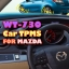 ROYCEED WT730 Car TPMS With Miniature Monitor For MAZDA thumbnail 1