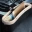 ์NEW ที่ใส่ของข้างเบาะรถยนต์ ที่จัดระเบียบในรถ กล่องใส่ของเสียบช่องระหว่างเบาะในรถ (สีเบจ) thumbnail 5
