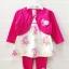 **Baby Q** SM1571 Size 3/6, 6/9, 9/12m เสื้อผ้าเด็กขายส่ง ยกแพค 6 ชุด ครบไซส์ thumbnail 1