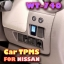 ROYCEED WT740 Car TPMS With Miniature Monitor For NISSAN thumbnail 1