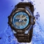 OHSEN – AD1302-3: Dual System Alarm / Chronograph Sports Watch thumbnail 1