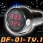 DF-01-TV.1 Car Digital Volt-meter & Room Thermometer thumbnail 1