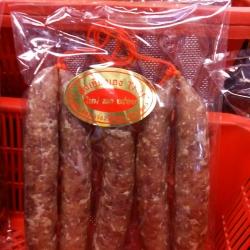 กุนเชียงเชือกแดง 中国香肠 Chinese Sausage ('S')