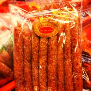 กุนเชียงเชือกเหลือง Chinese Sausage 中国香肠 ('S')