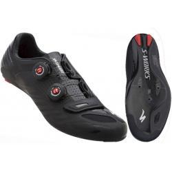 รองเท้าจักรยาน Specialized S-Works Road Shoe สี ดำ BLACK WIDE 41/8
